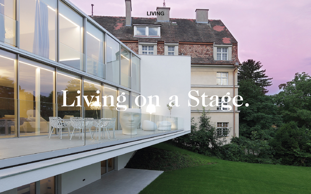 Living on a Stage.